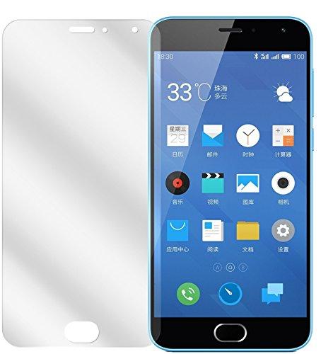 dipos I 6X Schutzfolie klar kompatibel mit Meizu M2 Note Folie Bildschirmschutzfolie