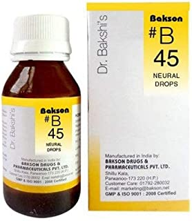 Bakson B45 Neural Drops (30ml) - Pack of 1 - By Natural & Herbal