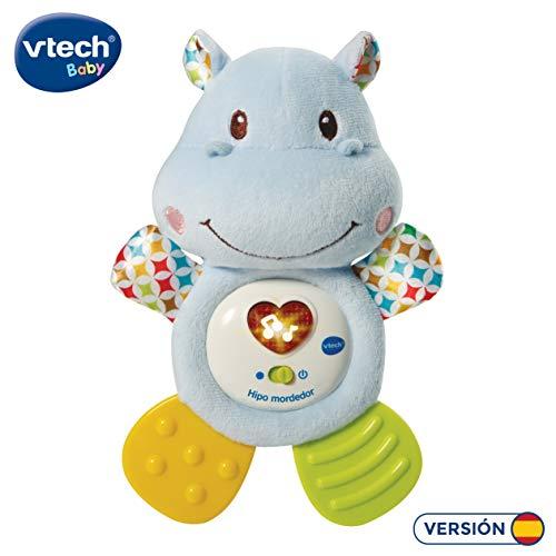 VTech- HIPO mordedor Hipopótamo de Peluche Musical y