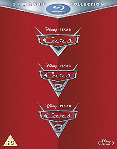 Cars: 1-3 [Blu-ray] [2017] [Region Free]