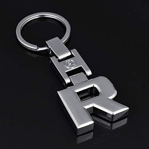 Betrothales Llaveros Para Mercedes Benz A B C S S Gl Slk Glk Cls Glc Ml Amg Llavero De Coche 3D Llavero De Metal Llaveros Amg Venta (Color : R-Size)
