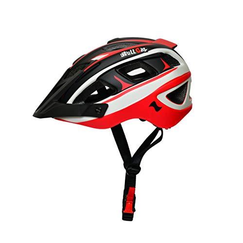 SkullCap® Casco Bicicleta montaña Hombre y Mujer, MTB Bicicleta Carretera, tamaño L...