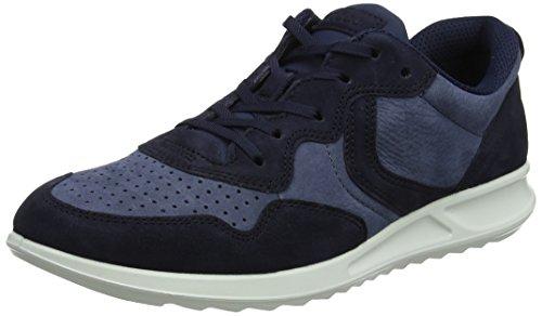 ECCO Damen Genna Sneaker, Blau (Night Sky/Ombra 51030), 38 EU