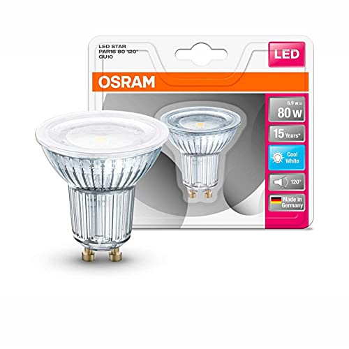 Osram 4058075815599 Ampoule LED Verre 6,90 W GU10 Argent