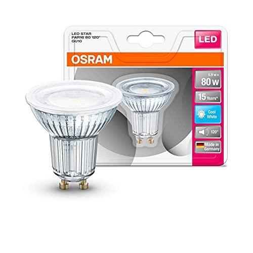 Osram St Par 16 Lampada LED GU10, 6.9 W, Luce Neutra, 1 Lamp