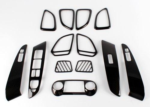 Aspect Carbone Intérieur moulé pour Hyundai ix35 à Modèles 2013
