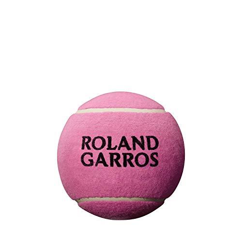Wilson Roland Garros, WRT1416PD Pallina da Tennis Jumbo Mini, 5 Pollici, Rosa
