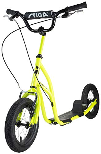 Stiga Air Scooter 12 Zoll Lime Green Kickbike Unisex Youth