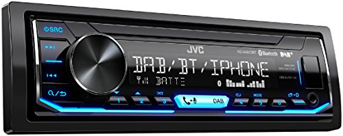 JVC KD-X451DBT Digital Media-Receiver mit Bluetooth-Freisprechfunktion und Digitalradio DAB+ schwarz