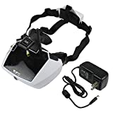 Walkera 5.8G 40 Channels Goggle4 FPV Video Image Transmission Glasses Spectacles with Antenna Wireless 40CH Aerial Video 5' HD Large Screen for 250 F210 Rodeo 150 Furious 320 Racing Drone