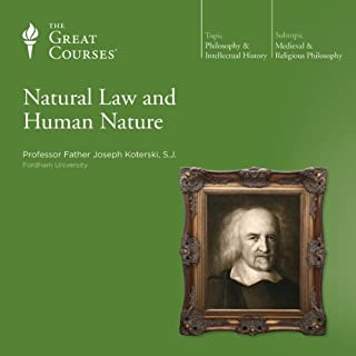 Natural Law and Human Nature audiobook cover art