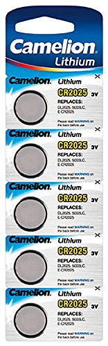 Camelion - Camelion Pile bouton CR2025 avec Lithium/3.0 V/mAh