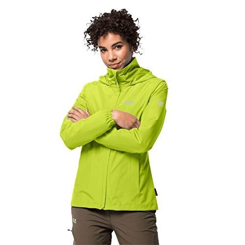 Jack Wolfskin Damen Stormy Point Jacket W Wetterschutzjacke, Bright Lime, L