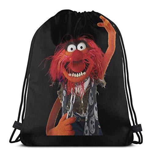 IUBBKI Mochila con cordón con estampado, vaso de precipitados The Muppets, bolsa...