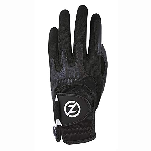 Zero Friction Male Men's Cabretta Elite, Left Hand, Black, One Size