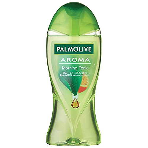 Palmolive Aroma Morning Tonic Body Wash for Women, Gel Based Shower Gel with 100% Natural Citrus Essential Oil & Lemongrass...