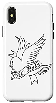 iPhone X/XS Cry Baby Aesthetic Tattoo Crybaby Bird Case