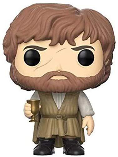 HJB Pop Tyrion Lannister Copa de Vino Little Devil A Song of Ice and Fire Juego de Tronos Mini Q Versión 3.9inches Colección Acción PVC Figura EP PVC