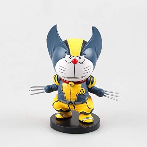 HEAGREN. La A Dream Cosplay Wolverine Anime Collection Toy Action Figure Regalo di Natale-Nove Centimetri