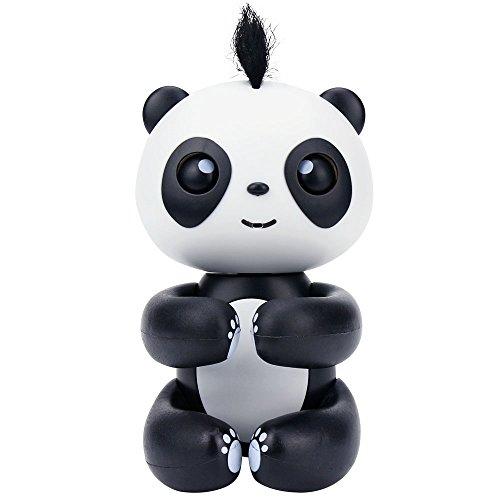 HAPPY PANDA - Finger Panda - Electronic Interactive Toy- Smart Pet Toys - Kids Christmas Gift-Not Finger Baby Monkey (Brown)