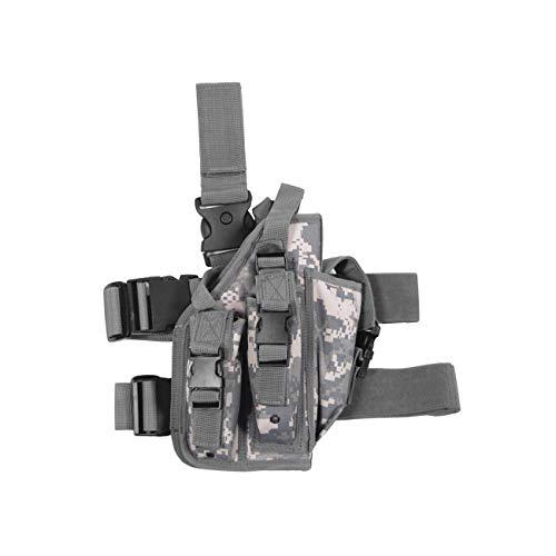 Pistolenbeinholster, AT-digital, Bein- und Gürtelbefestigung, rechts