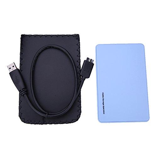 Amazingdeal - Carcasa externa para disco duro externo (USB 3.0,...
