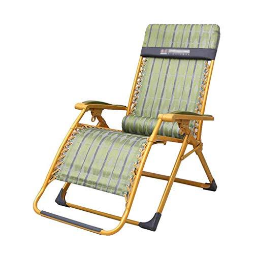 WYJW Textilene verbreding ligstoel ligstoelen tuin stoelen gewichtloosheid met lumbale kussens met bekers (kleur: # 2) #1