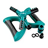 Segomo Tools 360 Degree Automatic Rotating Garden Lawn Water Sprinkler Irrigation System - GS360