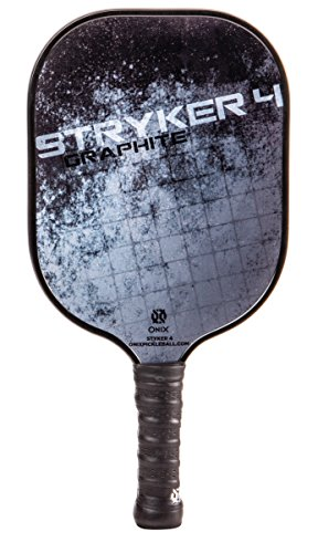 Onix Stryker 4 Pickleball Paddle Features Polypropylene Core, Graphite Face, and Larger Sweet Spot