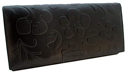 KissMe Collection, Fatto a mano da artigiani in Spagna, Vera Pelle, Lusso Portafoglio donna, 20x10x2cm