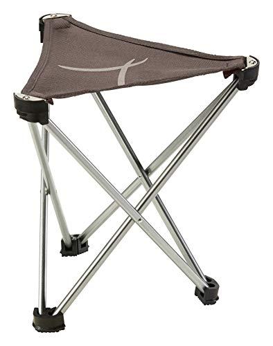 Grand Canyon SUPAI Mini - Leichter Campingstuhl, Klapp-Hocker bis 100 kg - Aluminium - Falcon (braun)