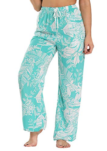 EXCHIC Women Printed Pants Boho Harem Casual Hippie Trousers (#23, S)