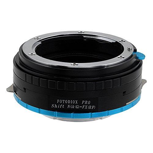 Fotodiox Pro–Adaptador de Objetivos Nikon G (FX, DX & Older) a cámara Fujifilm X-Series Mirrorless de Adaptador de Cambio para Cuerpos de cámara X-Mount como X-Pro1, X-E1, X-M1, X-A1, X-E2, X-T1