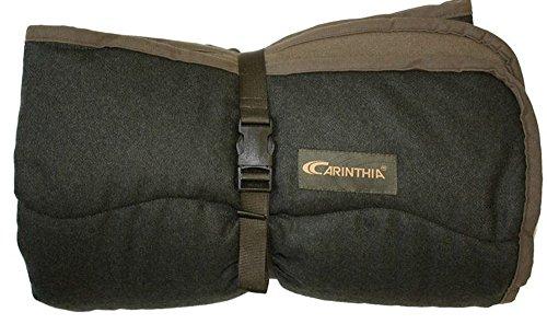 CARINTHIA Loden-Ansitzdecke für die Jagd, Angeln, Outdoor, Camping und Freizeit