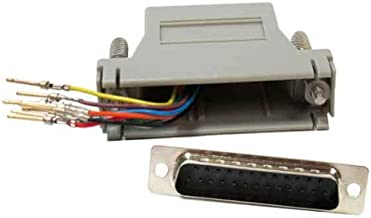 SF Cable, DB25 Male to RJ45 Modular Adapter