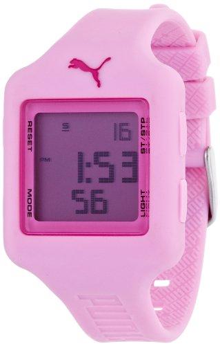 Puma Time Slide- S Pink - Reloj de Cuarzo para niña, con...