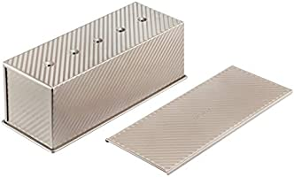 CHEFMADE Toast Boxes with Lip, Stripe or Smooth Structure