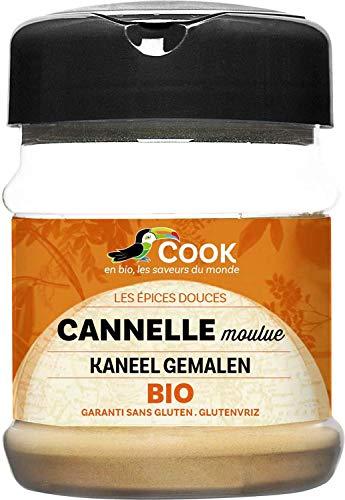 Cook Cannelle Poudre Pot Bio 80 g AD2315