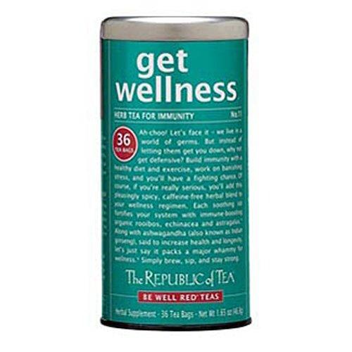 The Republic of Tea Get Wellness Tea, 36-Count
