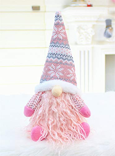 Deerludie & T Holiday Gnome Handmade Swedish Tomte, Christmas Elf Decoration Ornaments Thanks Giving Day Gifts #04