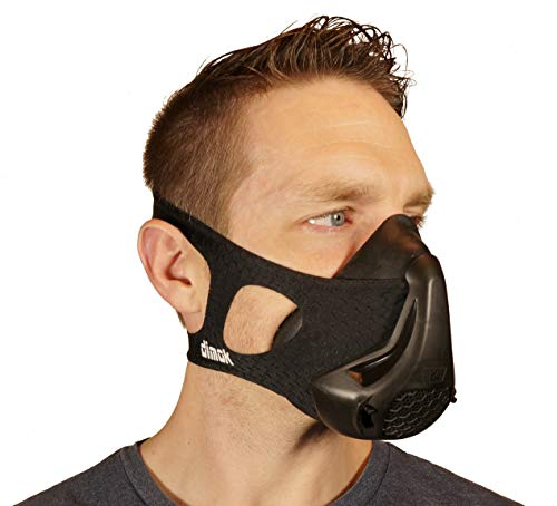 dimok Workout Mask Training Breathing Mask for Running Sports High Altitude Elevation Simulation - Endurance Exercise HIIT