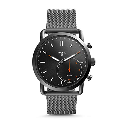 Fossil Mens Smartwatch with Stainless Steel Strap FTW1161