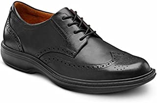 Wing Men's Therapeutic Diabetic Extra Depth Dress Shoe Leather Lace