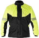 Alpinestars Men's Hurricane Rain Motorcycle Jacket, Yellow/Black, X-Large