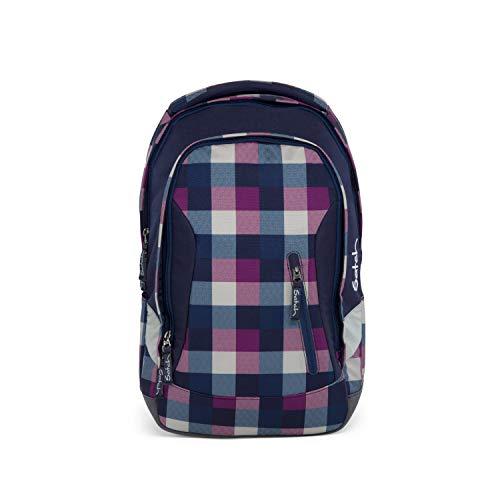 Satch sleek Schulrucksack - ergonomisch, 24 Liter, extra schlank - Berry Carry - Lila