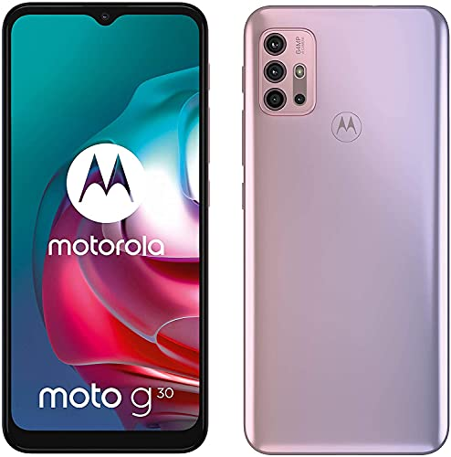 Motorola Moto G30 - Smartphone 128GB, 4GB RAM, Dual Sim, Pastel Sky