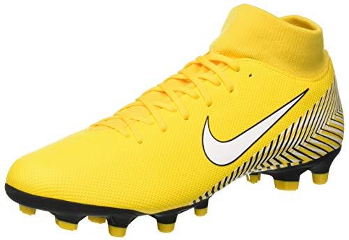 Nike Superfly 6 Academy NJR FG/MG, Zapatillas de Fútbol Unisex Adulto, Amarillo (Amarillo/White/Black 710), 42.5 EU