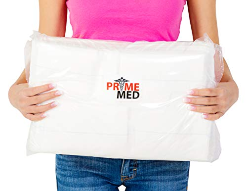 Non-Sterile ABD Pads – 5 Inch x 9 Inch Abdominal Wound Bandaging Pad (100 Pack)