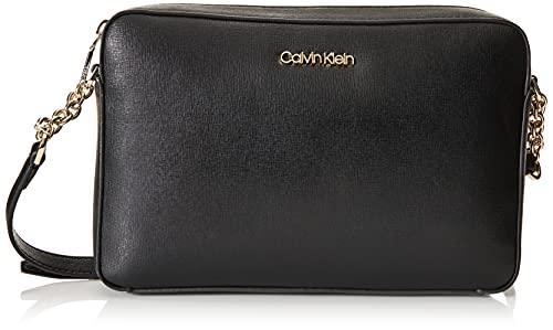 Calvin Klein Saffiano Camera Bag CK Black