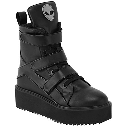 Killstar High Top Sneakers - She's Out There 37
